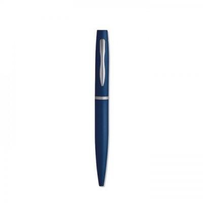 TOPSCRIPT Aluminiowy długopis granatowy
