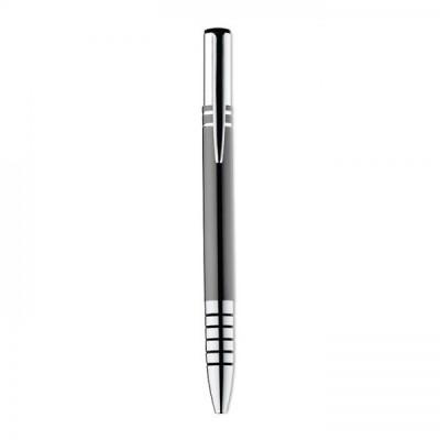 HEATHER Aluminiowy długopis  z chromowanymi końcówkami tytanowy
