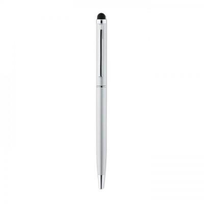 NEILO Aluminiowy, przekręcany długopis srebrny