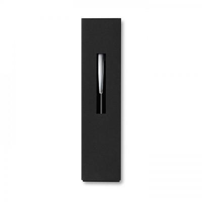 THEBOX Aluminiowy długopis na przycisk w kartonowym opakowaniu czarny