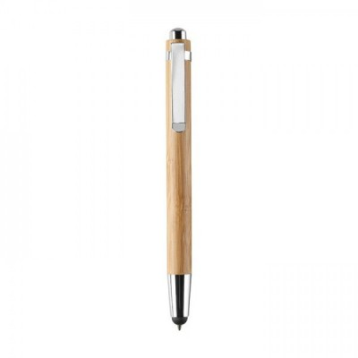 BYRON Bambusowy długopis z touchpenem