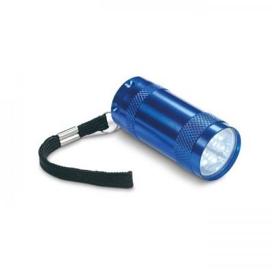 TEXAS Aluminiowa mini Latarka LED granatowa