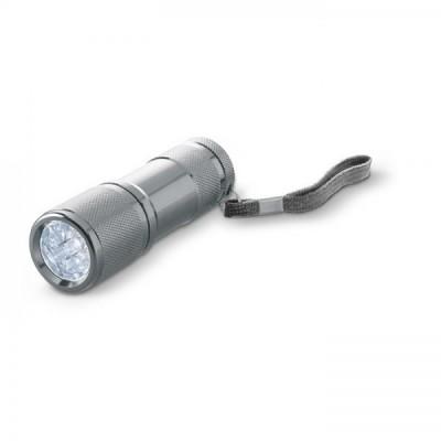 COMPACTO Metalowa Latarka LED
