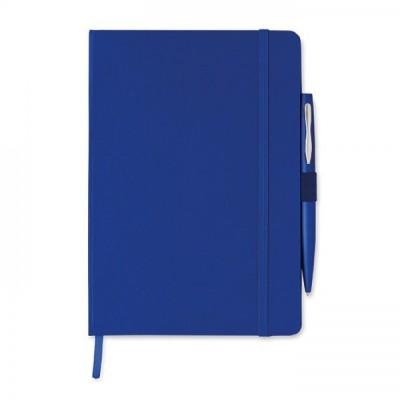 NOTAPLUS Notes A5 z długopisem granatowy