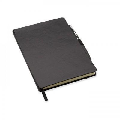 NOTAPLUS Notes A5 z długopisem czarny