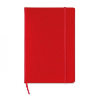 SQUARED Notes A5 czerwony