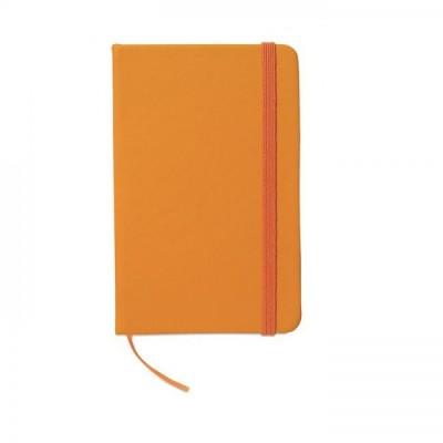 NOTELUX Notes A6 pomarańczowy