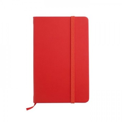 NOTELUX Notes A6 czerwony