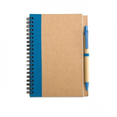SONORA PLUS Notes A5 z długopisem granatowy