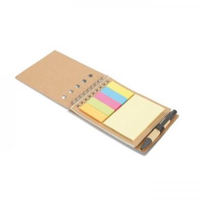 MULTIBOOK Notes z karteczkami samoprzylepnymi + długopis
