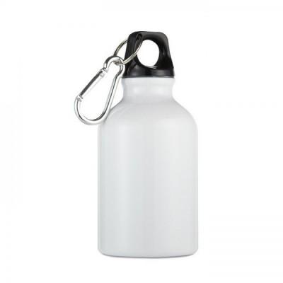 MOSS Mini bidon z karabinkiem poj. 300 ml biały