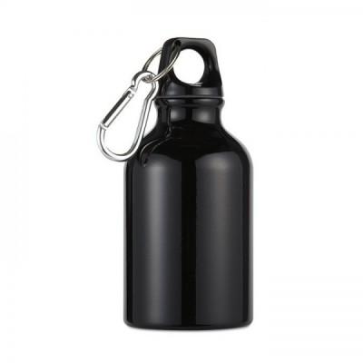 MOSS Mini bidon z karabinkiem poj. 300 ml czarny