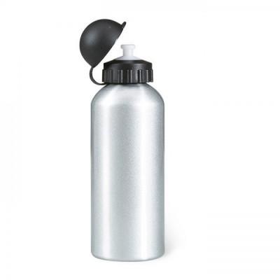 BISCING Metalowy Bidon poj. 600 ml. Srebrny