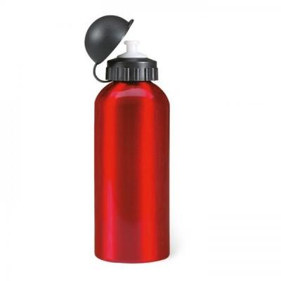 BISCING Metalowy Bidon poj. 600 ml. Czerwony