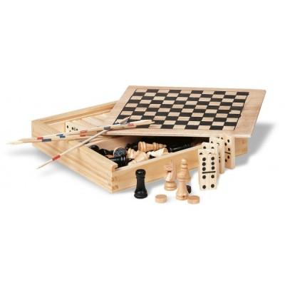 TRIKES - 4 gry w drewnianym opakowaniu