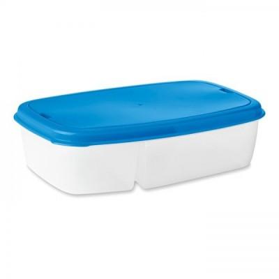 DILUNCH Lunch box ze sztućcami (niebieski)