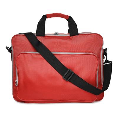 LUCCA Torba na laptop 15 cali - czerwona