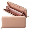 CACHAREL Elegancki portfel damski - różowy (CEL636Q)