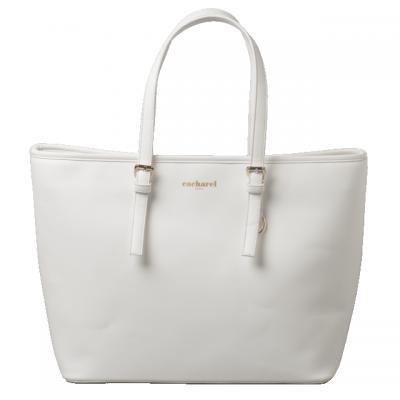 CACHAREL Torba na ramię Bagatelle Blanc kolor biały CTS636F