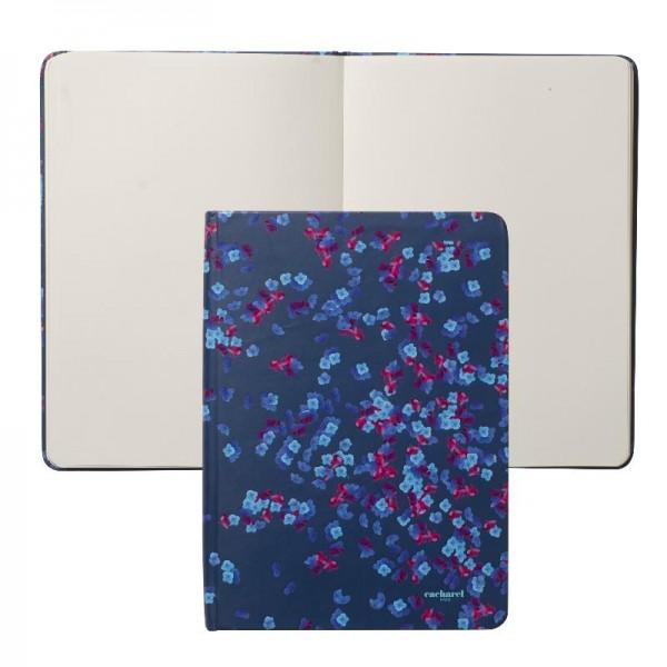 CACHAREL Notes A6 Tourbillon Bleu kolor niebieski CNM514