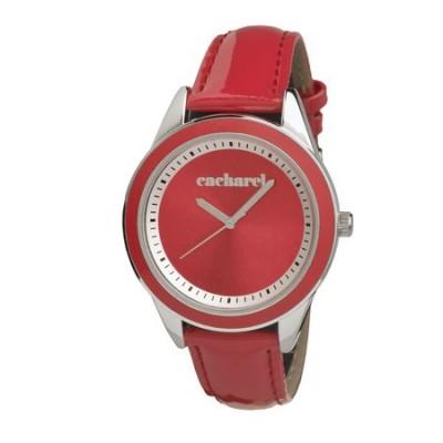 CACHAREL Zegarek `Monceau Red` kolor czerwony CMN2285