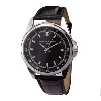 JEAN-LOUIS SCHERRER Zegarek Contraste Black kolor czarny SMN135