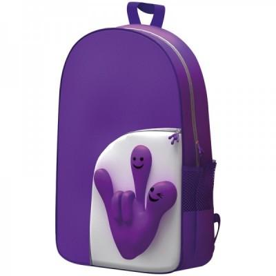 Plecak Rączka kolor fioletowy 6444512