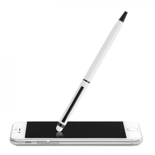 NEILO COLOUR Przekręcany długopis - biały