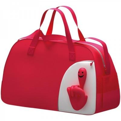 Torba sportowa Rączka, kolor czerwony 6444405