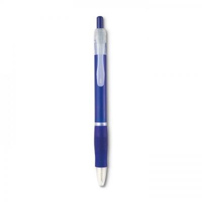 MANORS Długopis z gumą  przezroczysty granatowy
