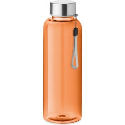 UTAH Butelka z tritanu 500ml. - przezroczysta pomarańczowa