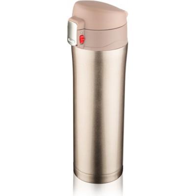 Kubek termiczny LOCK 440 ml - szampański (jasnozłoty)