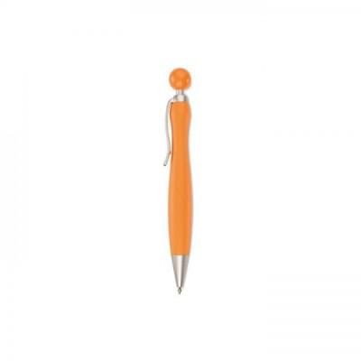 WIMEN Długopis z okrągłą końcówką pomarańczowy