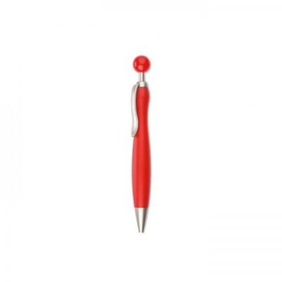 WIMEN Długopis z okrągłą końcówką czerwony