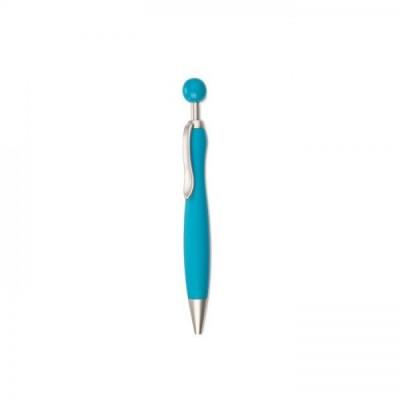 WIMEN Długopis z okrągłą końcówką błękitny