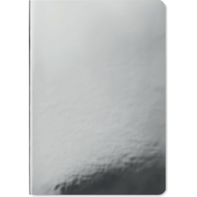SPARKLING NOTE Notatnik A5 - srebrny mat