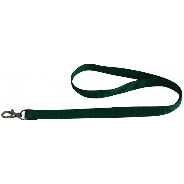 Smycz zielona 15 mm