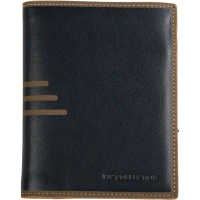 Elegancki portfel dla mężczyzny z ozdobnymi paskami (1)