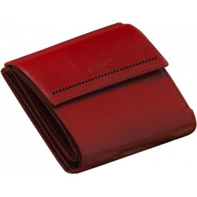 Mini portfel damski - czerwony (5)