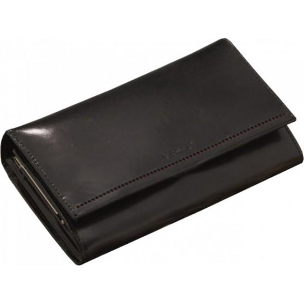Duży portfel damski z ozdobnym paskiem (7)