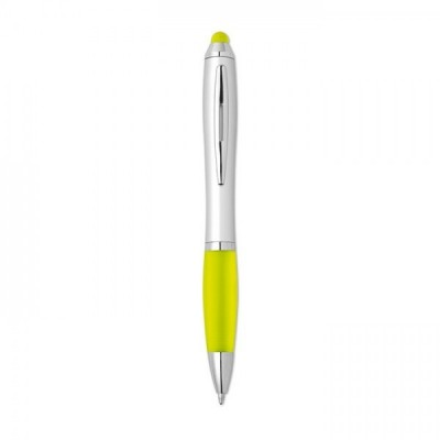 RIOTOUCH Rio Satynowy długopis żółty