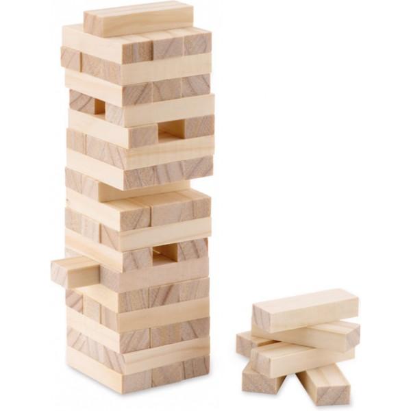 """PISA Drewniana gra """"wieża"""""""