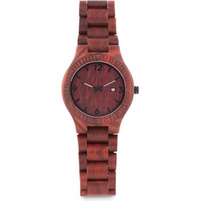 SAN GALLEN Zegarek drewniany na rękę (CB)
