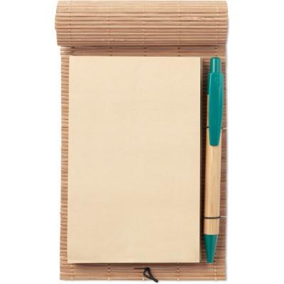 MO9570 CORTINA NOTE  Notatnik bambusowy