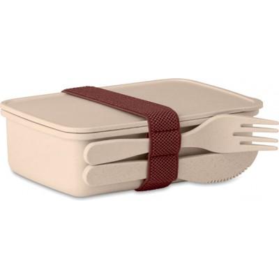 ASTORIABOX eko pudełko na lunch (beżowy)