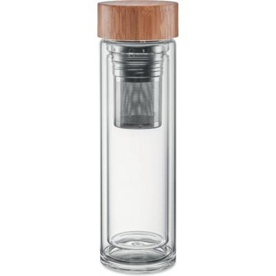 BATUMI GLASS  Butelka ze szkła borokrzemianowego