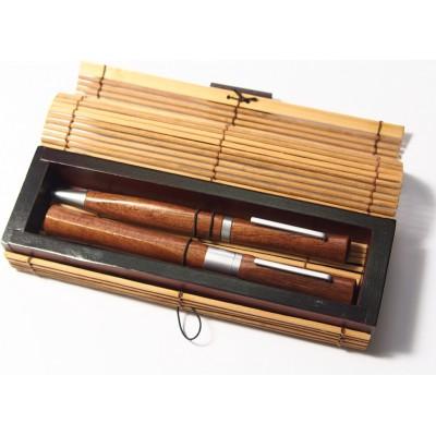 Eko zestaw długopis + pióro