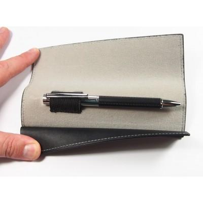 Długopis metalowy w nietypowym etui